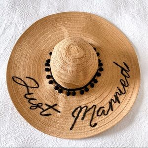 Altar'd State Just Married Beach Hat